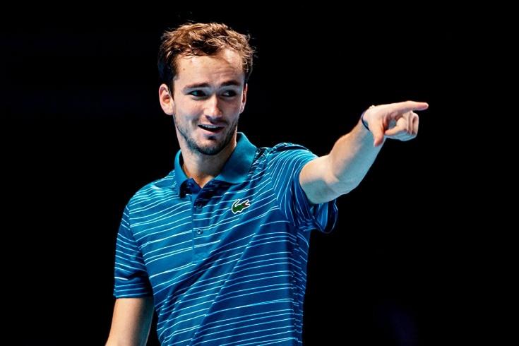 Даниил Медведев заработал за карьеру $ 16,2 млн, обошёл Давыденко, впереди из российских теннисистов только Кафельников