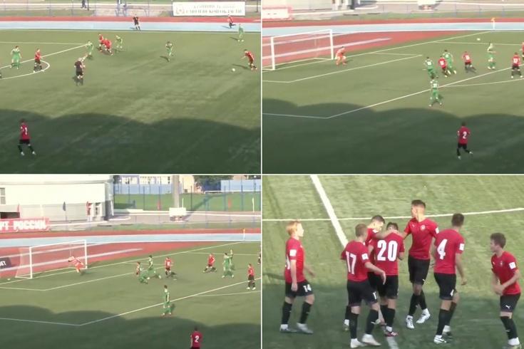 Эффектный гол с 40 метров воспитанника «Спартака»