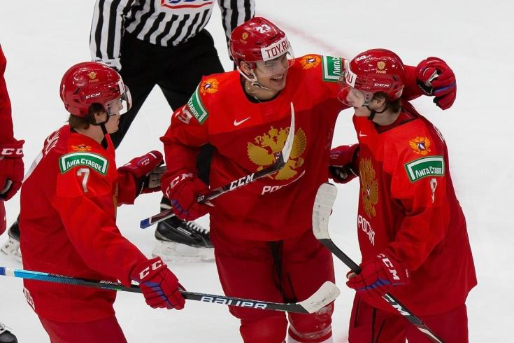 Дожали! Россия закончила великую серию шведов, они не проигрывали в группе МЧМ 14 лет