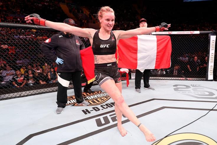 Валентина Шевченко нокаутировала Джессику Андраде — обзор боя, видео, результаты всех боёв UFC 261