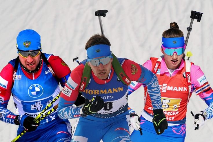 Состав сборной России по биатлону на чемпионат мира в Поклюке 2021 – кто побежит в эстафете, шансы