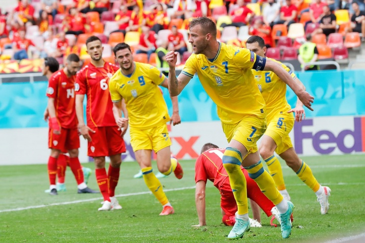 Евро-2020, Украина – Северная Македовния – 2:1