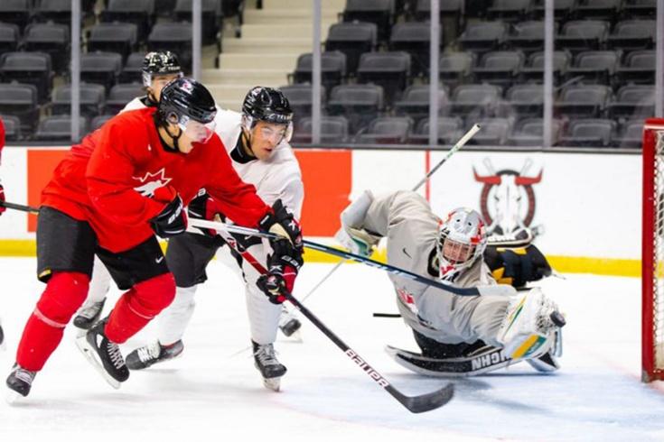 Как молодёжная сборная Канады готовится к МЧМ-2021