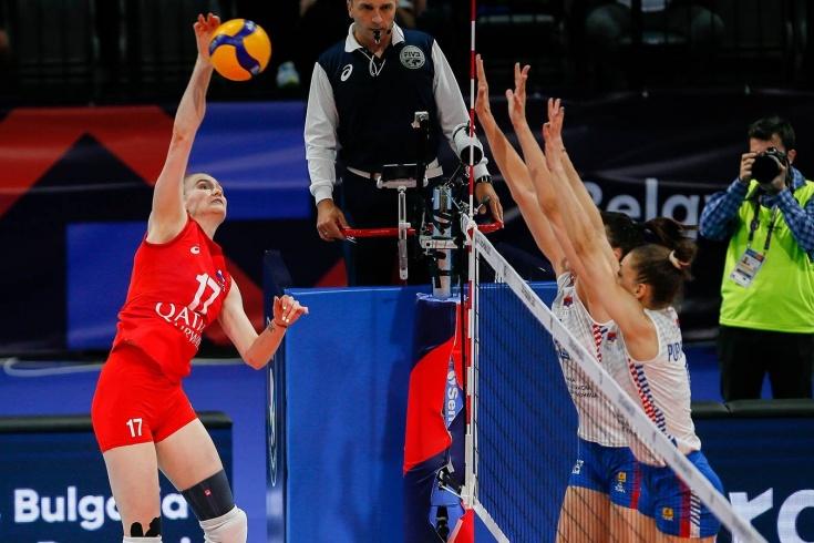 Волейбол, ЧЕ-2021: россиянки проиграли Сербии