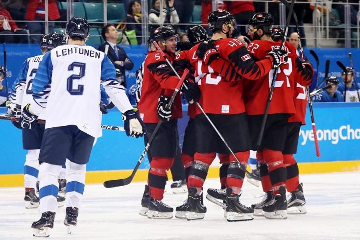 Канада — Финляндия — 1:0