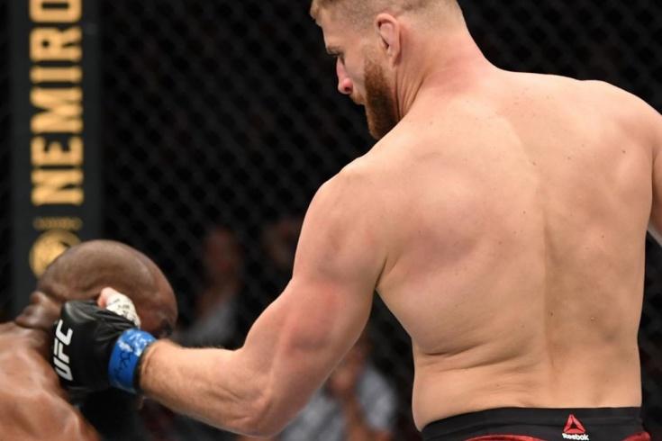 Ян Блахович нокаутировал Кори Андерсона на UFC Fight Night 167, Рио-Ранчо, 16 февраля 2020