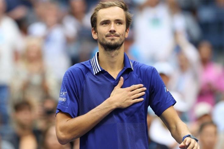 «Пожалуйста, только без эйсов по линии». Реакция Медведева на выход в финал US Open