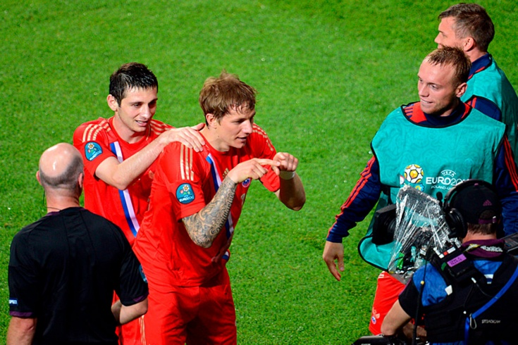Гол Павлюченко в ворота Чехии признан лучшим в мат