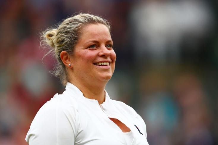 37-летняя Ким Клейстерс обыграла после возвращения чемпионок турниров «Большого шлема»