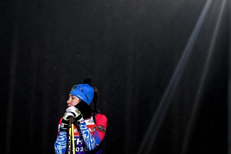 Сборная России по биатлону провалилась в гонке преследования в Хохфильцене – выиграла Тириль Экхофф