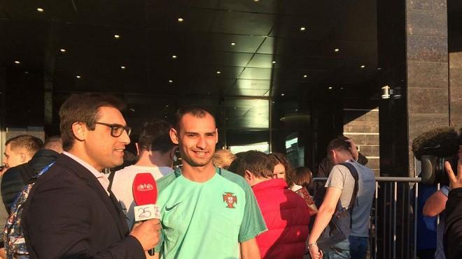 Корреспондент «Чемпионата» удивил португальское ТВ