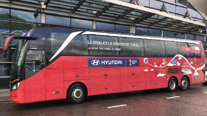 Сборная Чили прилетела в Казань и заселилась в гостиницу